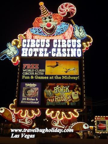 Circus Circus - Circus Acts, Las Vegas, USA