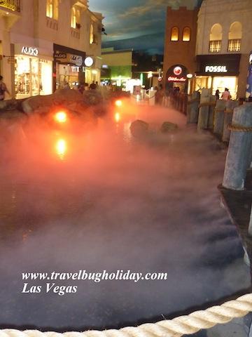 Mirical Mile Shops - Theatre Fountain
