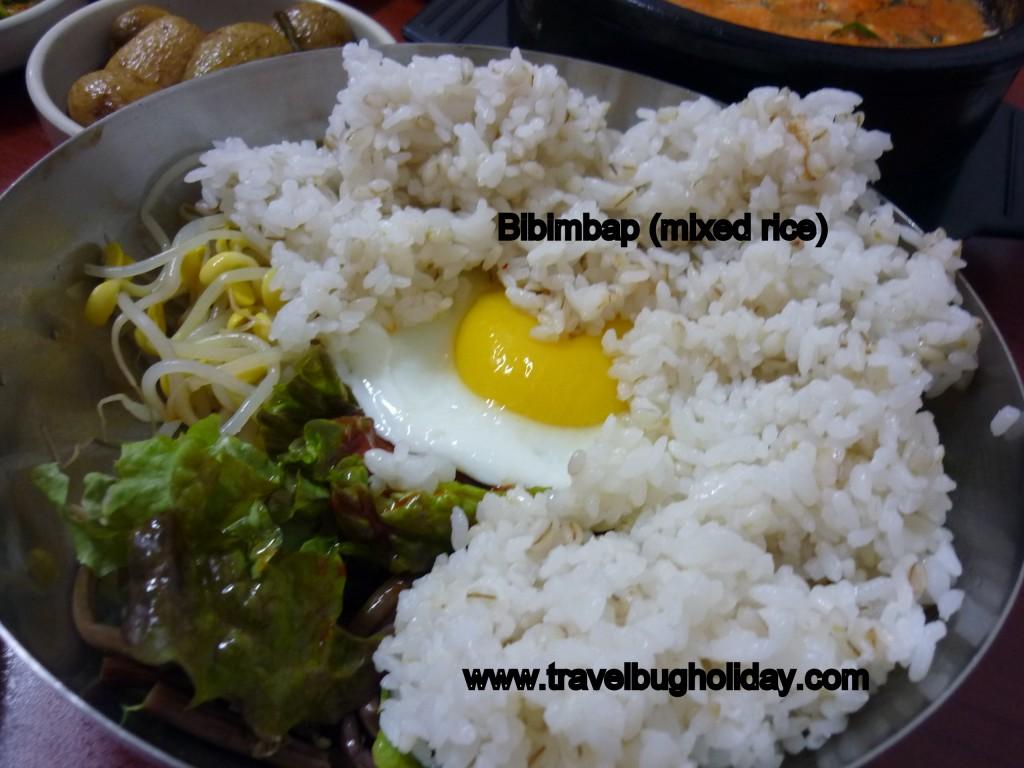 Bibimbap, Yummy Cheap Korean Food