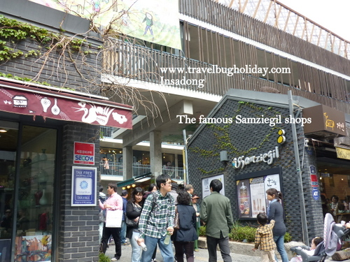 The Famous Ssamziegil Mall, Seoul, Korea