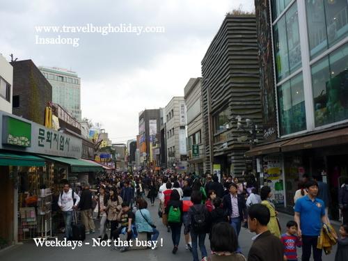 People Watching at Insadong, Seoul, Korea