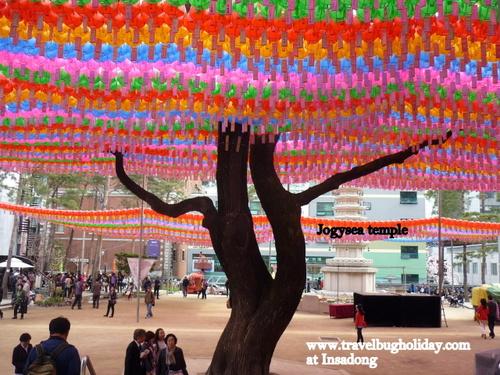Jogysea temple, Insadong, Seoul, Korea