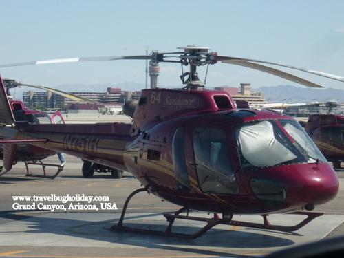 The Sundance Helicopter, Grand Canyon, Arizona, USA