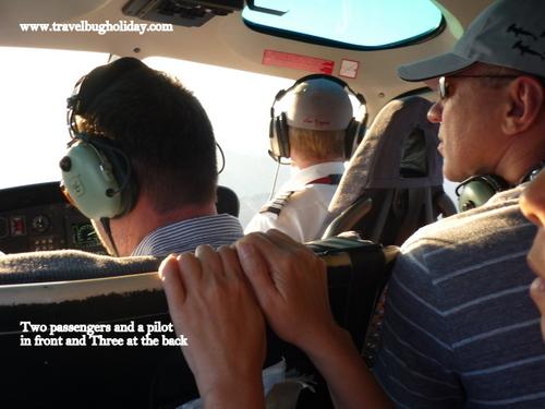 Inside the Sundance Helicopter, Grand Canyon, Arizona, USA