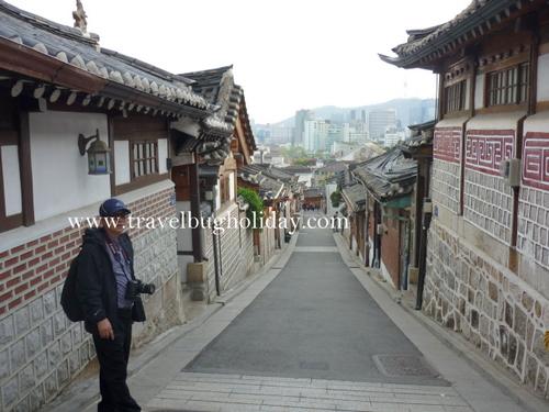 Buckhon Village, Seoul, Korea