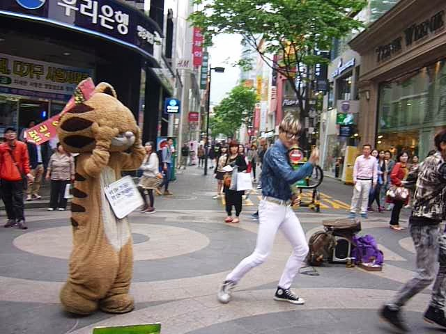 Show at Namdaemun Market