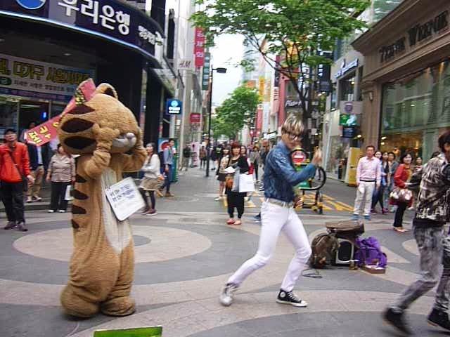 Show at Namdaemun Market