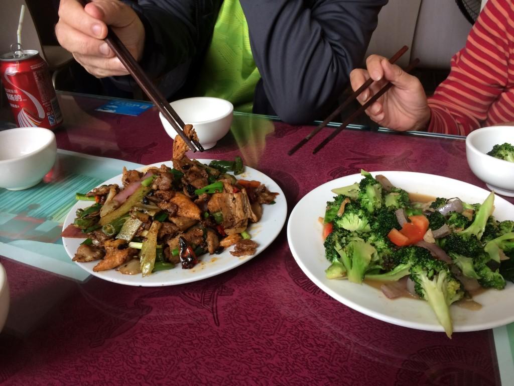 Yangshuo, China, Food
