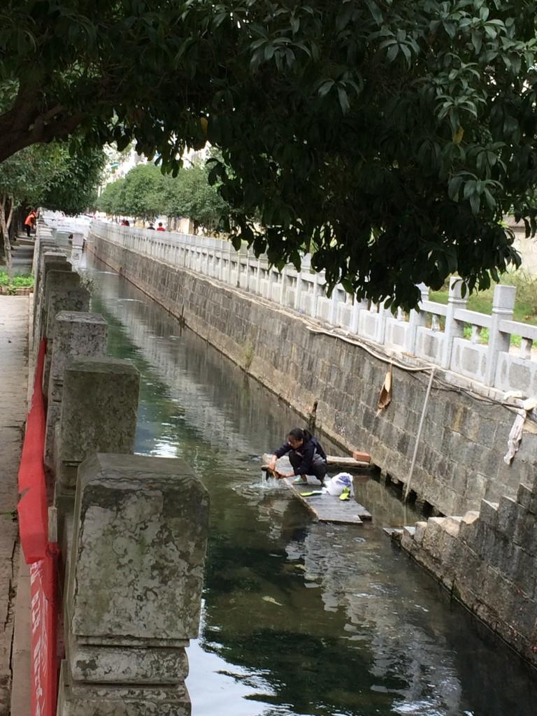 Yangshuo, China, Doing the Laundry