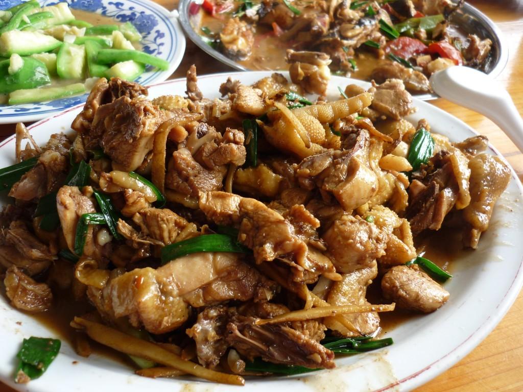 Yangsguo, China Food